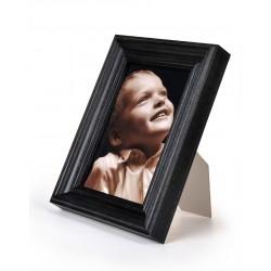 Ramka do zdjęć retro 204, 10x15 czarna