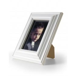 Ramka na fotografie retro wypukła 13x18 biała