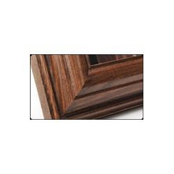 Ramka drewniana wąska 103, ciemny brąz 21x30