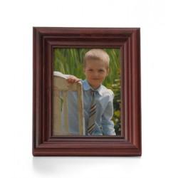 Ramka na fotografie retro wklęsła 15x15 mahoń