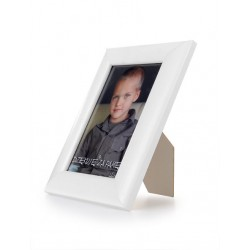 Ramka do zdjęć zaokrąglona 10x15 biały