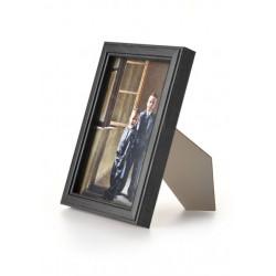 Ramka drewniana wąska 103, czarna 10x15