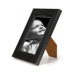 Ramka na fotografię prosta z frezem 10x15 czarny
