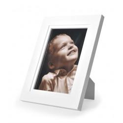 Ramka na fotografię prosta z frezem 21x30 biały