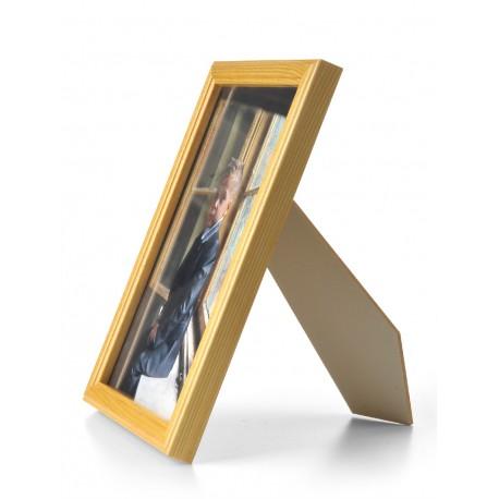 Ramka drewniana wąska 103, jasny brąz 21x30