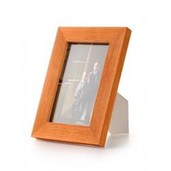Ramka do zdjęć drapowana 201d, 21x30 pomarańczowa