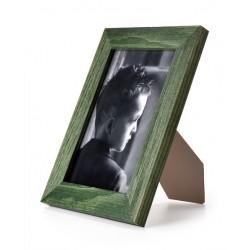 Ramka do zdjęć drapowana 201d, 15x21 zielona