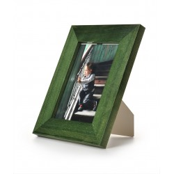 Ramka na fotografię prosta 13x18 zielona