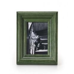 Ramka na fotografie retro wklęsła 10x10 zielona