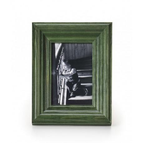 Ramka na fotografie retro wklęsła 15x15 zielona