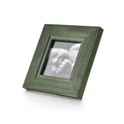 Ramka na fotografię z frezem 10x10  zielona
