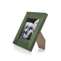Ramka na fotografię z frezem 15x15 zielona