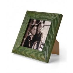 Ramka na zdjęcie prosta szczotkowana 10x10 zielona