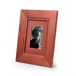 Ramka do zdjęć szeroka z frezem 20x20  mahoń