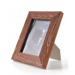 Ramka drewniana wąska 101, mahoń 15x21