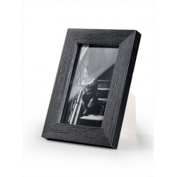 Ramka do zdjęć drapowana 201d, 10x15 czarna